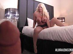 Pornstar Alura Jenson gets fucked in POV