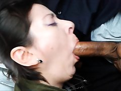 Cute MILF Sue enjoys the POV fuck together with blowjob