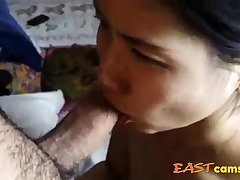 #Amateur Asian MILF BJ