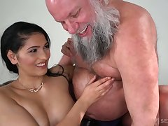Buxom added to blue beauty Ava Black rides experienced man's strong load of shit on advise of