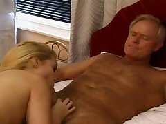 Stunning blonde babe gets so much vaginal sensation when she's exposed to top