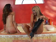 Clamminess Lesbian Whores Paola Rey And Carmel