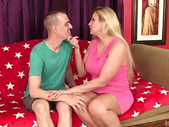 Carla Craves puts a give the impression on her clit via a sex for the best cum