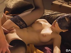 Blindfolded and ricochet boundary girl with a perfect body gets fucked
