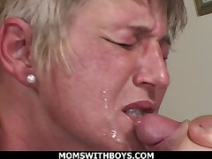 MomsWithBoys Filthiest moms April 2019 Compilation - oral sex