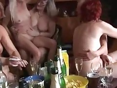 Mature and Young Fucking Each Variant in a Swinger Party