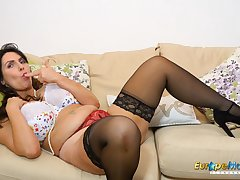 EuropeMaturE Hot British Mature Enjoy Office Fun