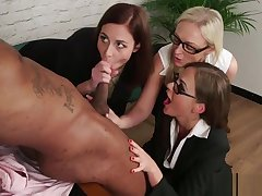 Office CFNM milfs deepthroating permanent bbc