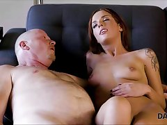 Super-raunchy redhead gets paid be worthwhile for coitus with bf