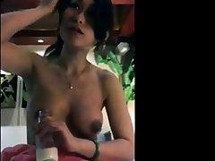Milking Asian Milf