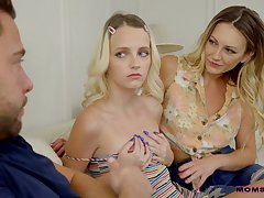 Kate Blossom and Adira Allure threeway porn