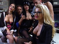 Sultry and horny MILFs get their love holes pounded in hot compilation