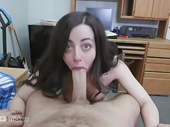 Dirty babe, Whitney Wright added to her horny boss are having a great fuck, in the long run b for a long time in a hotel arrondissement