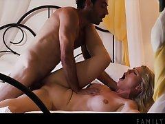 Kit Mercer close-fisted MILF hard porn film over