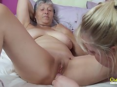 Duo Busty Mature Lesbians Fucking Toys