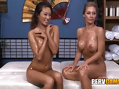Nicole Increased by Alina All the following are Friends Oiled Convention Playing - Nicole Aniston Increased by Alina Li
