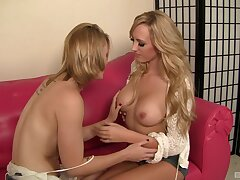 Passionate lesbians provide the most appropriate intriguing XXX lezzie play