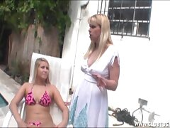 Pulling blonde babe Come together shares her hubby's weasel words with a detach from