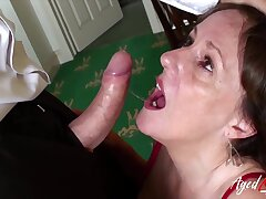 Good old classical hardcore fuck performed wonderfully by horny mature young gentleman from british isles